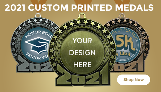 Custom 2021 Medals With Your Own Image