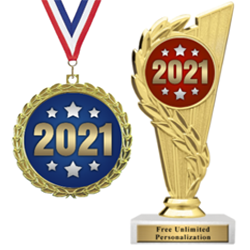 2021 Trophies and Medals