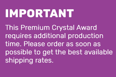 Premium Crystal Shipping Notice