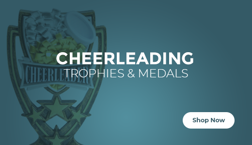 Shop Cheer Trophies, Medals, and Plaques