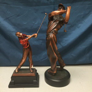 Golf Swing Trophy