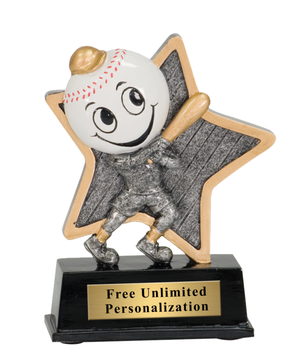 Little Pal Baseball Trophy