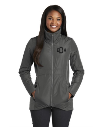 Monogrammed Ladies Collective Insulated Jacket
