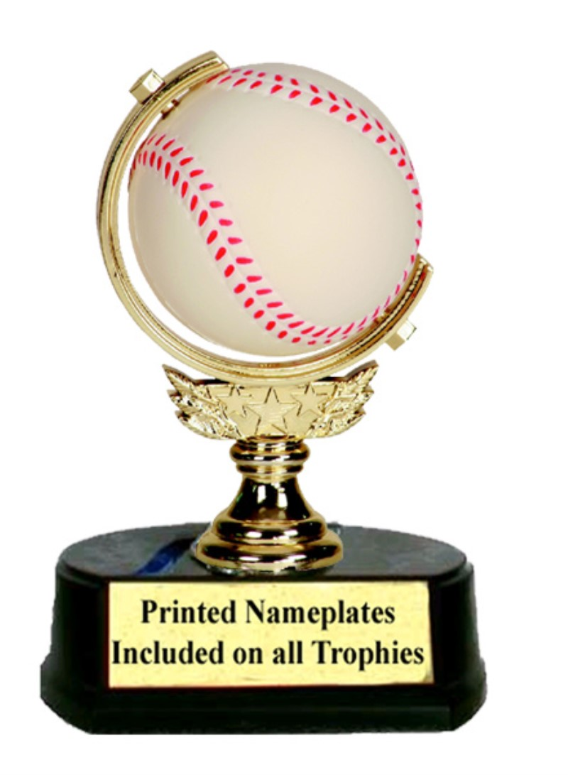 Sponge Spinner Baseball Trophy