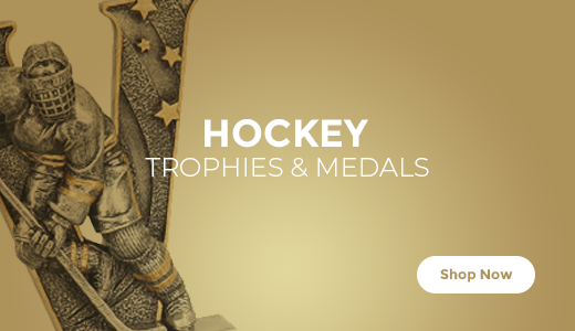 Shop Hockey Trophies, Medals, and Plaques