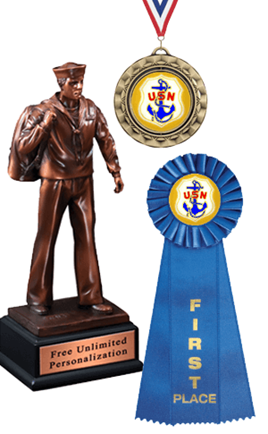 Navy Plaques, Trophies and Other Navy Awards