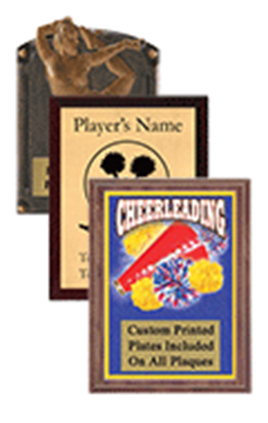 Cheer Plaques