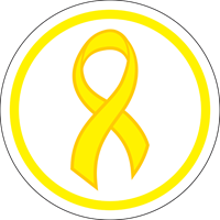 Awareness Ribbon - Yellow