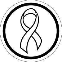 Awareness Ribbon - White