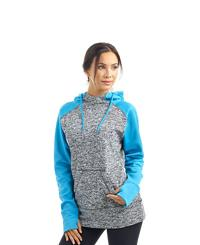 J America Ladies' Colorblock Cosmic Pullover
