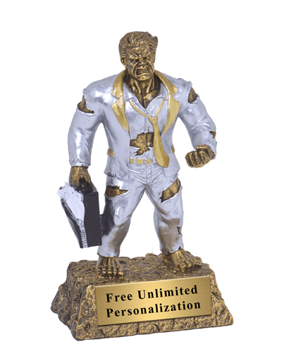 Monster Salesman Trophy