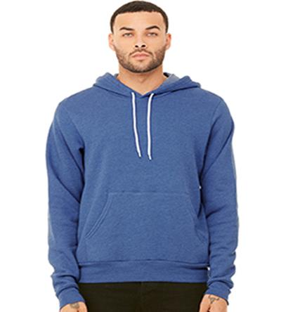Bella and Canvas Fleece Pullover Hoodie