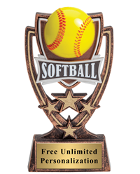 Four Star Softball Trophy