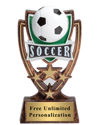 Four Star Soccer Trophy