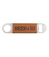 Rawhide Leatherette Bottle Opener