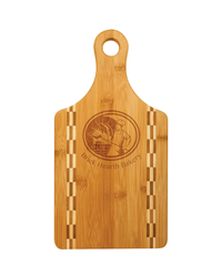 Bamboo Cutting Board Paddle with Butcher Block