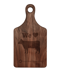 Walnut Paddle Cutting Board