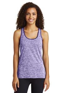 Sport-Tek Ladies PosiCharge Electric Heather Tank
