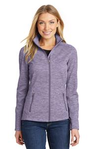 Port Authority Ladies Digi Stripe Fleece Jacket