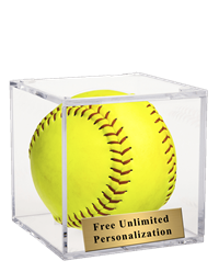 Softball Display Box