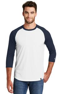 New Era 3/4 Sleeve Baseball Raglan Tee