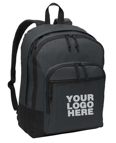 Basic Dark Charcoal Backpack by Port Authority