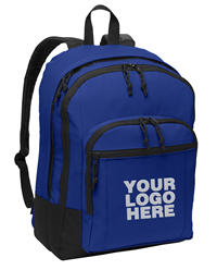 Basic Twilight Blue Backpack by Port Authority