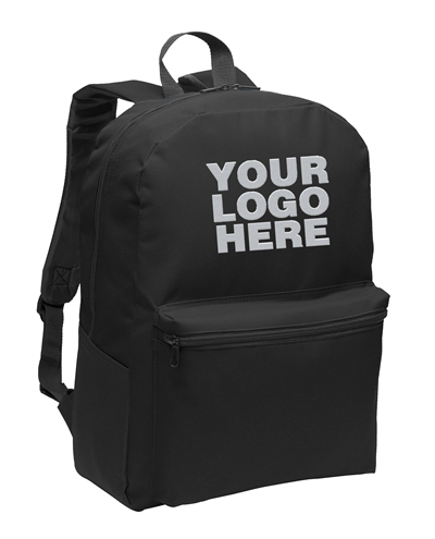 Value Black Backpack by Port Authority