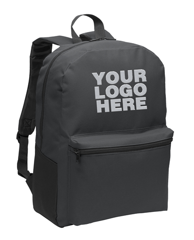 Value Dark Charcoal Backpack by Port Authority