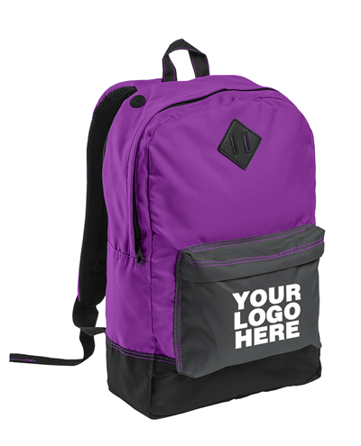 Retro Electric Purple Backpack by District