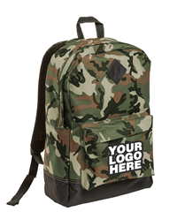 Retro Military Camo Backpack by District