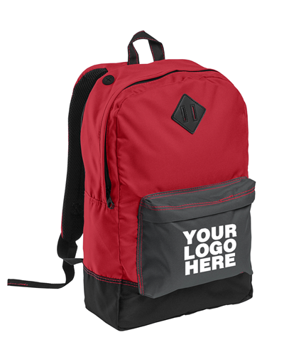 Retro New Red Backpack by District