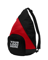 Active True Red/Black Sling Pack by Port Authority