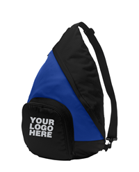 Active Royal/Black Sling Pack by Port Authority