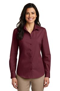 Port Authority Ladies Carefree Poplin Shirt