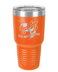 30 oz Orange Polar Camel Ringneck Tumbler