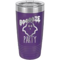 Purple Halloween Polar Camel Insulated Tumbler