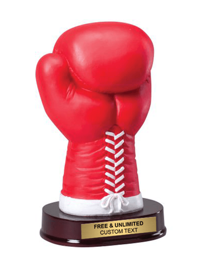 Boxing Glove Sculpture Trophy