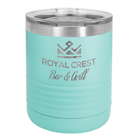 10 oz. Teal Stainless Steel Insulated Tumbler
