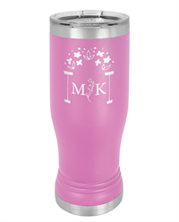 Light Purple Stainless Steel Pilsner Tumbler