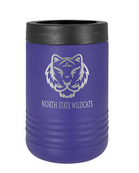 Purple Stainless Steel Insulated Beverage Holder