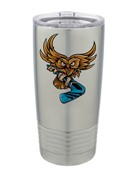 20 oz. Sublimatable Stainless Steel Tumbler