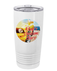 20 oz. White Sublimatable Stainless Steel Tumbler