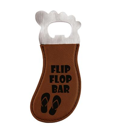 Dark Brown Foot Shaped Bottle Opener