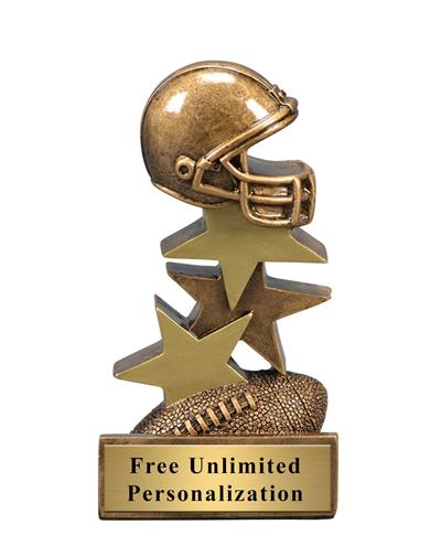 Star Step Football Trophy