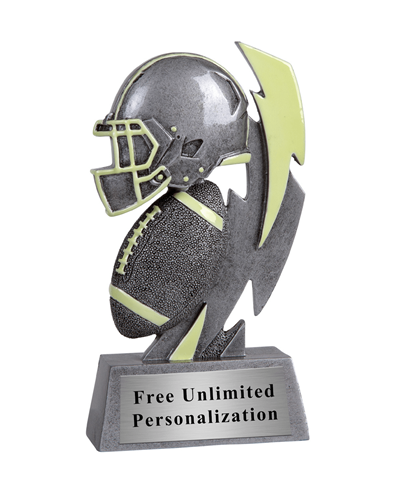 Glow In The Dark Football Trophy