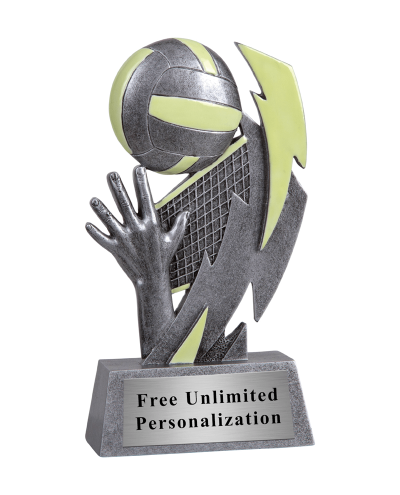 Glow In The Dark Volleyball Trophy