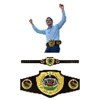 Fantasy Football League Shield Belt