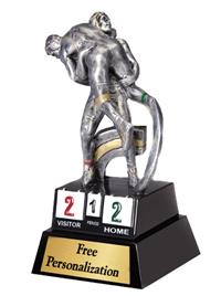 Motion Extreme Wrestling Trophy