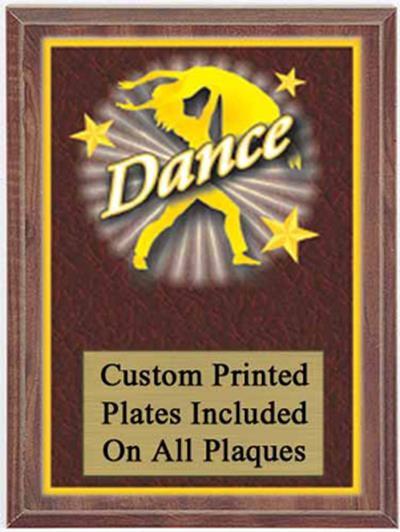 Color Dance Plaque